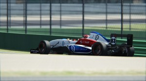 Jadwat on the way to his first win of the season at Vallelunga-Club.
