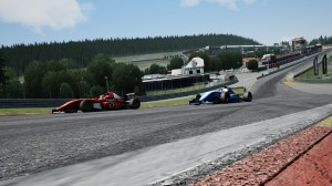 Steyn fights back to re-claim 2nd at Eau Rouge.