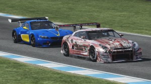 Smith challenges de Villiers for second position in GT-AM.