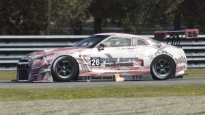 de Villiers won GT-AM in race two and finished the race fourth overall.