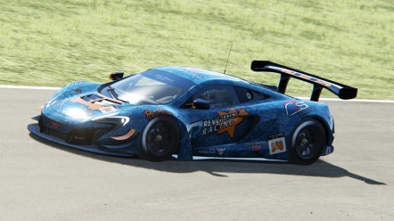 Philip Lategan - #14 Mclaren 650S GT3