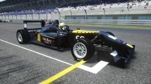 Holden-Jones led most of Race 1.