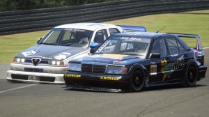 The move from Stormfront Racing's Russell Meyer on Revlimit Racing's Jonathan Mogotsi for second position in Race 2.